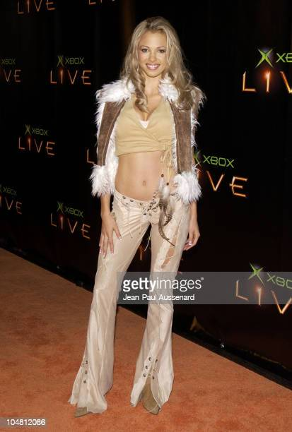 Marnette Patterson during Launch Party for Xbox Live Arrivals at Peek at The Sunset Room in Hollywood California United States
