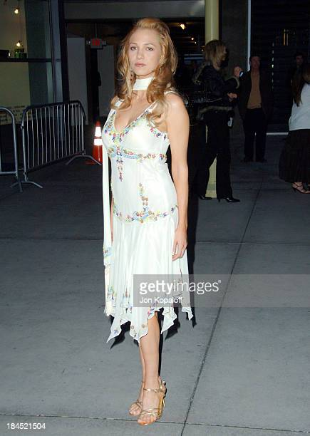 Marnette Patterson during Standing Still Los Angeles Premiere Arrivals at Arclight Cinemas in Hollywood California United States