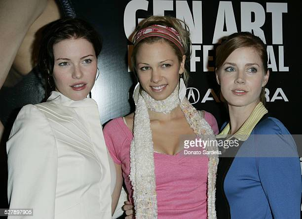 Marnette Patterson guest and Amy Adams during Armani Casa Hosts the 10th Gen Art Film Festival LA at Armanni Casa in Bevrly Hills California United...