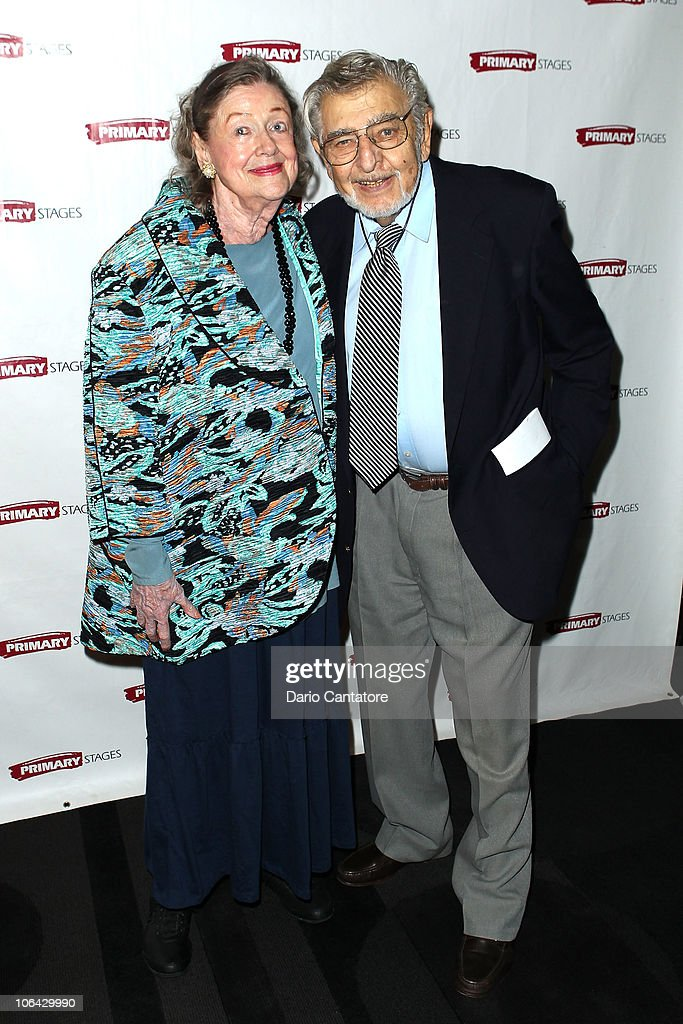 Marni Nixon and Samuel ÔBiffÕ Liff attend the Primary Stages Gala at The Edison Ballroom on November 1, 2010 in New York City.