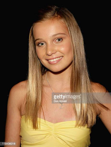 Marnie Kennedy attends the L'Oreal Paris 2007 AFI Awards Nominations Announcement at the Sydney Theatre on October 24 2007 in Sydney Australia All...