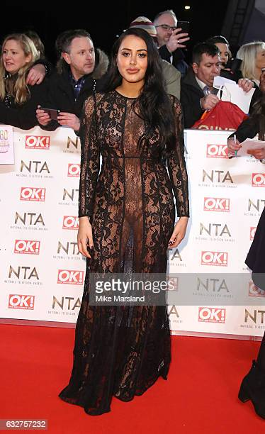 Marnie Simpson attends the National Television Awards at The O2 Arena on January 25 2017 in London England