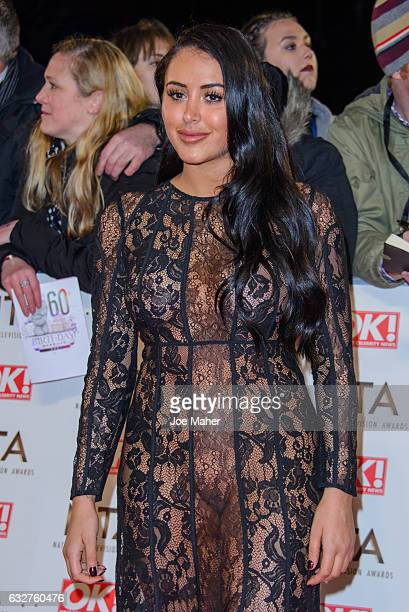 Marnie Simpson attends the National Television Awards on January 25 2017 in London United Kingdom