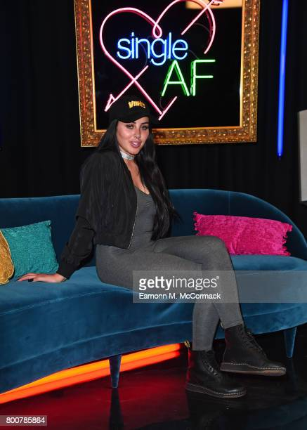 Marnie Simpson attends the photocall of MTV's new show 'Single AF' at MTV London on June 25 2017 in London England