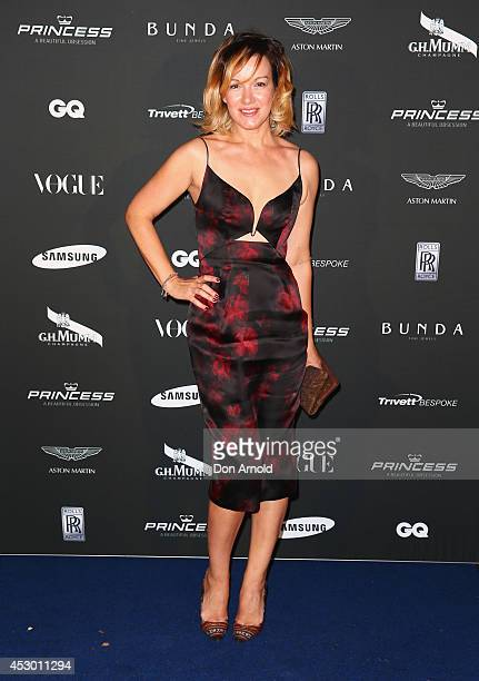 Marnie Skillings attends the Princess Yachts launch evening at Rose Bay Marina on August 1 2014 in Sydney Australia