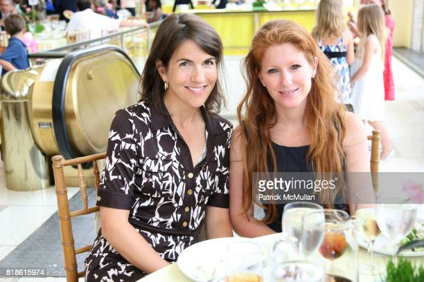 Marnie Worth and Alison Cihra attend AMERICAN BALLET THEATRE Family Day Benefit and Luncheon at Avery Fisher Hall NYC on June 5 2010 in New York