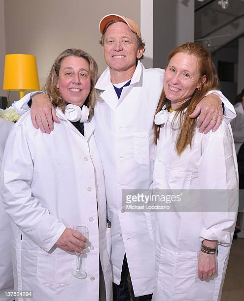 Maro Chermayeff Jamie Redford and Kyle Redford attend Marina Abramovic The Artist is Present Silence Is Golden Event hosted by Veuve Clicquot and HBO...