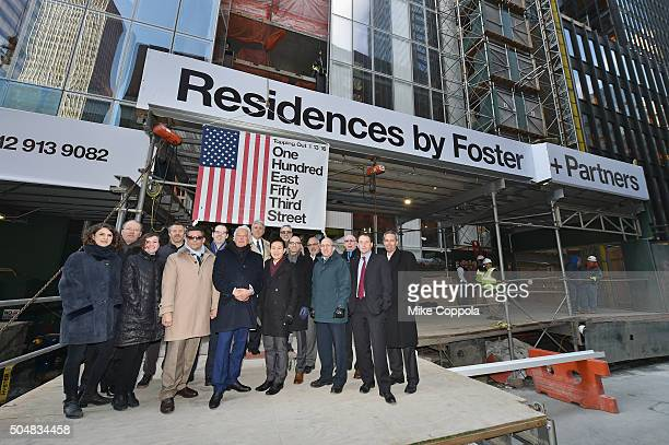 Maro Riga of Foster Partners Robert Laudenschlager of SLCE Rebekah Hieronymus of Foster Partners Ilya Mirgorodsky of William Georgis William Georgis...