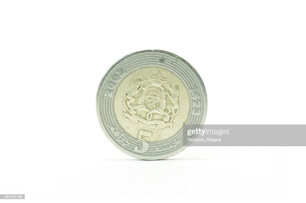 Maroccan Dirham : Stock Photo