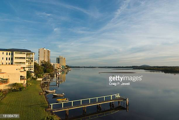 Maroochy river in winter