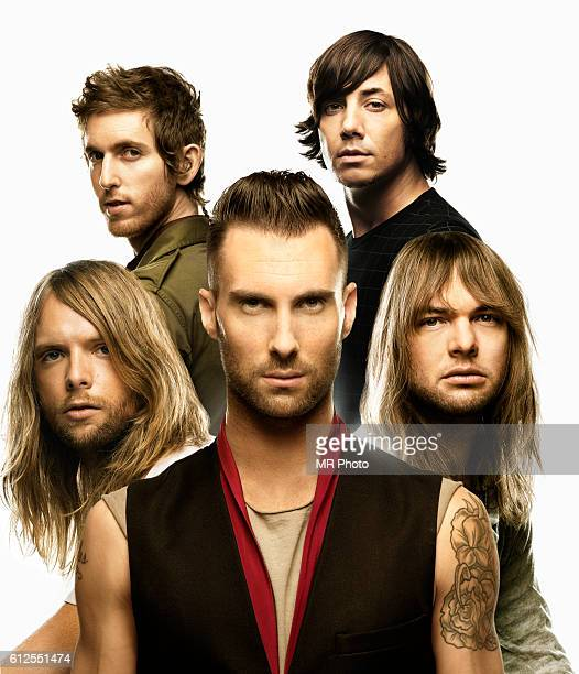 Maroon 5 are photographed for Rolling Stone Magazine on August 3, 2007.