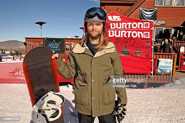 Maroon 5 band member James Valentine attends Burton Learn To Ride Day 2 on January 20 2013 in Park City Utah