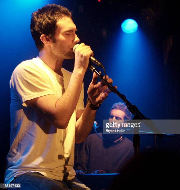 Maroon 5 during Maroon 5 performs a private concert for STAR 987 listeners at The Viper Room in Hollywood at The Viper Room in Hollywood CA United...