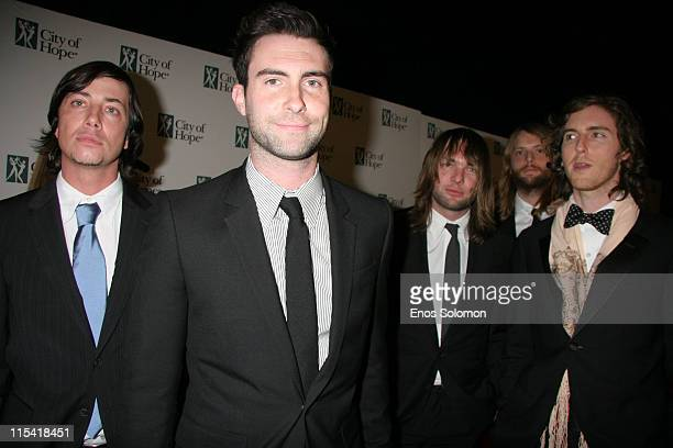 Maroon 5 during The City of Hope's Spirit of Life Award Gala Honoring BMG US President Charles Goldstuck at Pacific Design Center in West Hollywood...