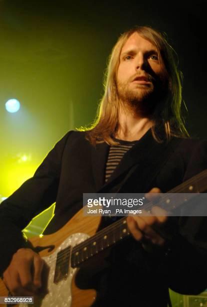Maroon 5 lead guitarist James Valentine performs at Scala in Kings Cross London