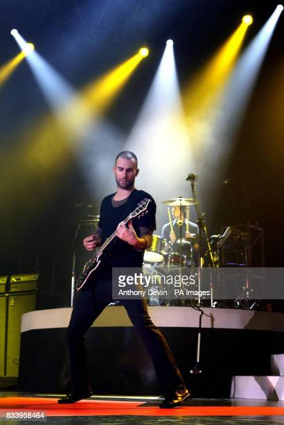 Maroon 5 live in concert at Wembley Arena in north London