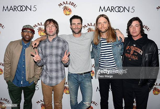 Maroon 5 Performs at Custom Marooned on Malibu Island Concert for New York City Fans at Roseland Ballroom on November 16 2013 in New York City