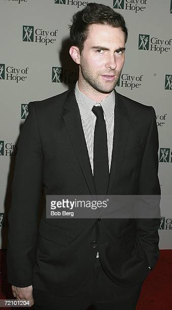 Maroon 5 singer Adam Levine arrives at the City Of Hope Dinner Honoring Charles Goldstuck October 5 2006 at the Pacific Design Center in Los Angeles...