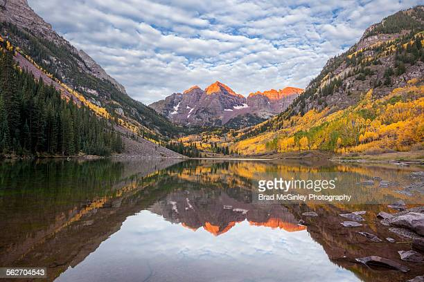 Maroon Bells autumn sunrise