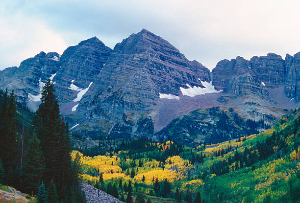 Maroon Bells In Fall Wall Art