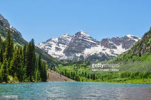 maroon bells - maroon bells stock pictures, royalty-free photos & images