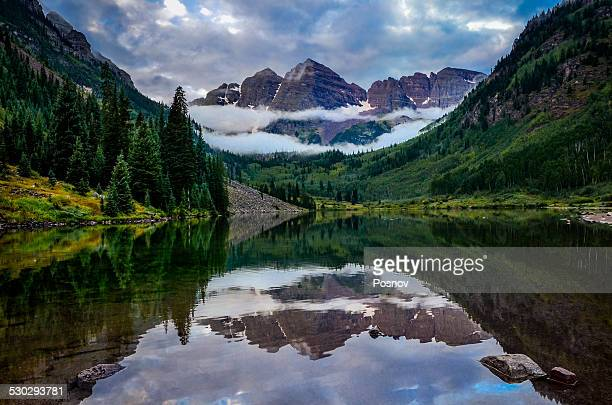 maroon bells - aspen colorado stock photos and pictures