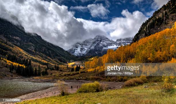 maroonbell - maroon bells stock pictures, royalty-free photos & images