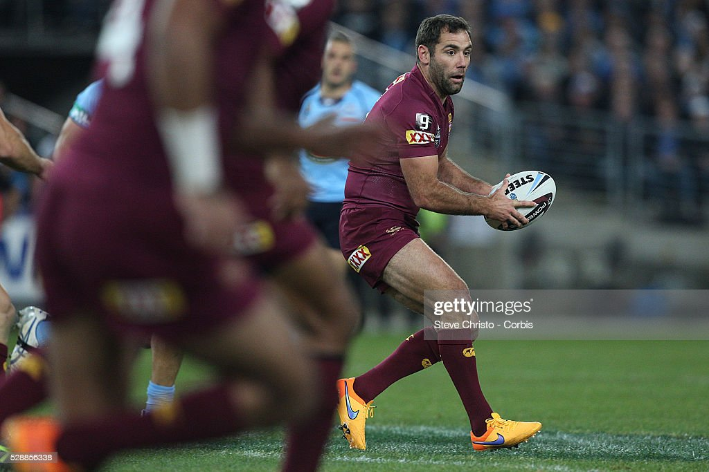 Rugby League - State of Origin - New South Wales Vs. Queensland : News Photo