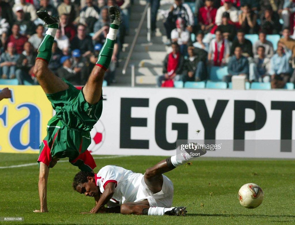 Marouane Chamakh Jose Clayton Tunisie Maroc Finale De La