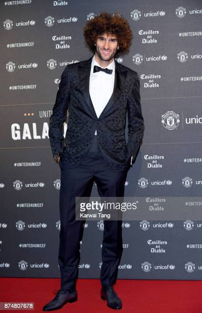 Marouane Fellaini attends the United for Unicef Gala Dinner at Old Trafford on November 15 2017 in Manchester England