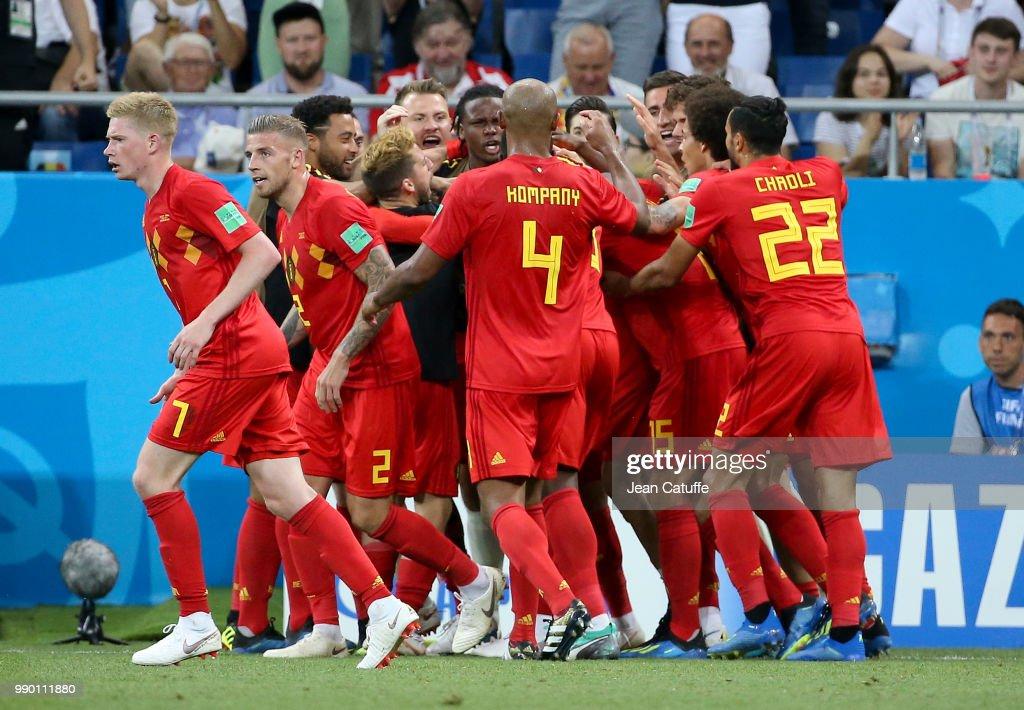 Belgium v Japan: Round of 16 - 2018 FIFA World Cup Russia : Fotografia de notícias