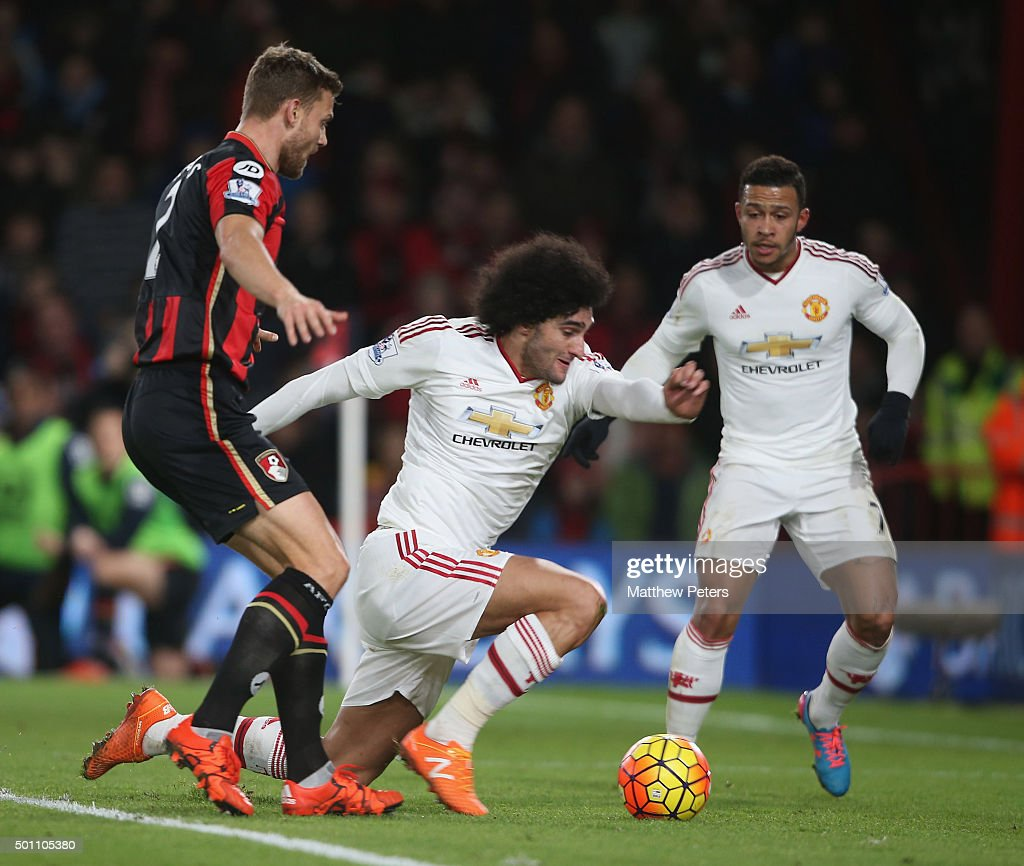 A.F.C. Bournemouth v Manchester United - Premier League : News Photo
