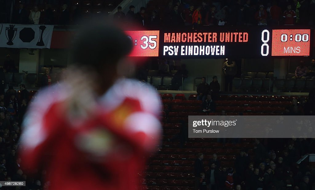 Manchester United FC v PSV Eindhoven - UEFA Champions League : News Photo