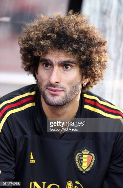 Marouane FELLAINI pictured during a friendly game between Belgium and Costa Rica as part of preparations for the 2018 FIFA World Cup in Russia on...