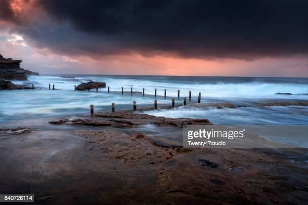 Maroubra rock pool, Sydney,Australia