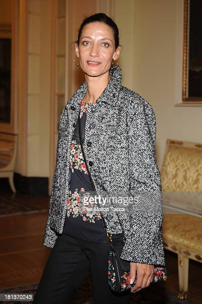Marpessa Hennink attends Agnona Collezione Zero By Stefano Pilati cocktail and Alison Moyet concert as a part of Milan Fashion Week Womenswear...