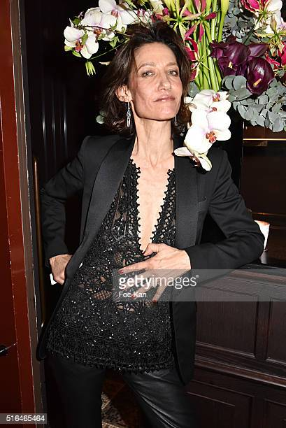 Marpessa Hennink attends 'Je n'ecrirai Jamais Mes Memoires' Grace Jones Biography Launch Party Hosted By Editions Seguier At Les Bains Paris on March...