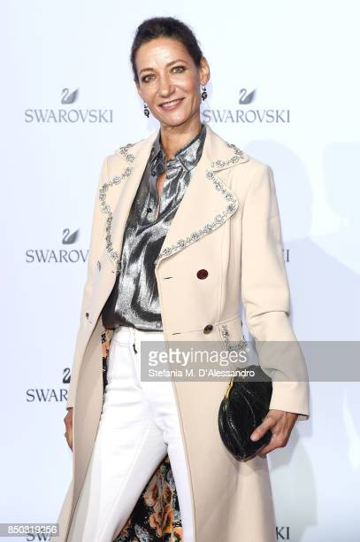 Marpessa Hennink attends Swarovski Crystal Wonderland Party on September 20 2017 in Milan Italy