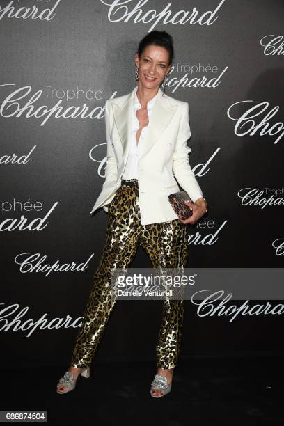 Marpessa Hennink attends the Chopard Trophy photocall at Hotel Martinez on May 22 2017 in Cannes France