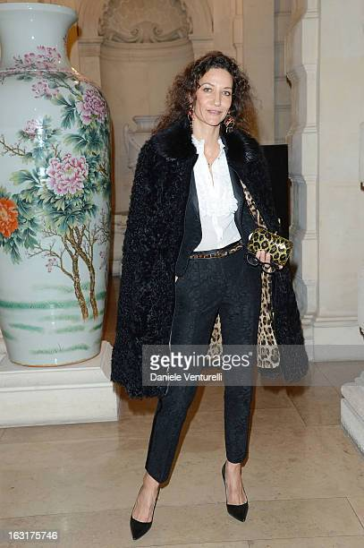 Marpessa Hennink attends the 'CR Fashion Book Issue 2' Carine Roitfeld Cocktail as part of Paris Fashion Week at Hotel ShangriLa on March 5 2013 in...