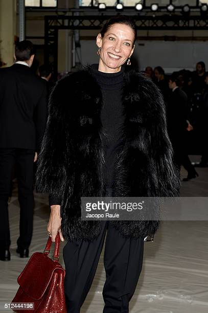 Marpessa Hennink attends the Giamba show during Milan Fashion Week Fall/Winter 2016/17 on February 26 2016 in Milan Italy