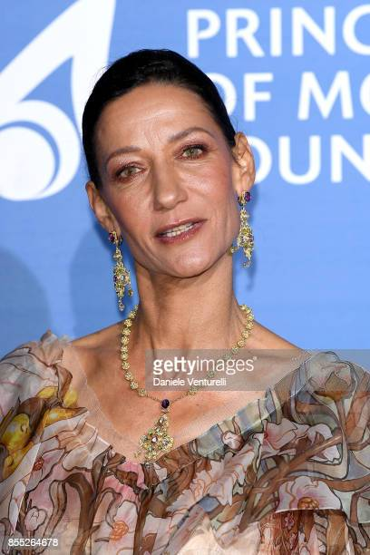 Marpessa Hennink attends the inaugural 'MonteCarlo Gala for the Global Ocean' honoring Leonardo DiCaprio at the Monaco Garnier Opera on September 28...