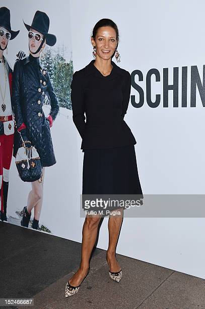 Marpessa Hennink attends the Juergen Teller Dinner Hosted By Moschino during Milan Fashion Week Womenswear Spring/Summer 2013 at the Giacomo...