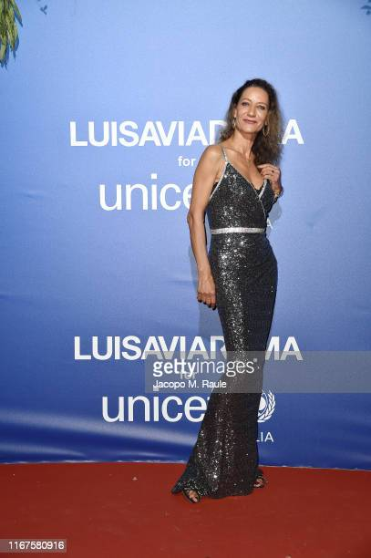 Marpessa Hennink attends the photocall at the Unicef Summer Gala Presented by Luisaviaroma at on August 09 2019 in Porto Cervo Italy