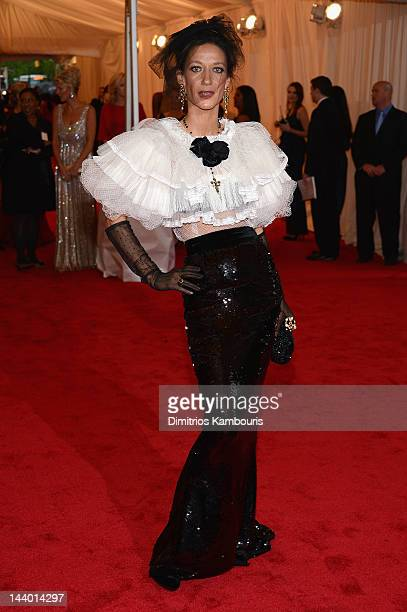 Marpessa Hennink attends the 'Schiaparelli And Prada Impossible Conversations' Costume Institute Gala at the Metropolitan Museum of Art on May 7 2012...