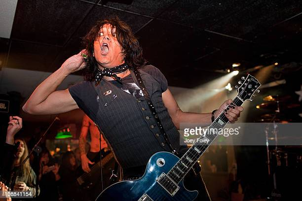 Marq Torien of BulletBoys performs live in concert at Rock House Cafe on February 4 2011 in Indianapolis Indiana