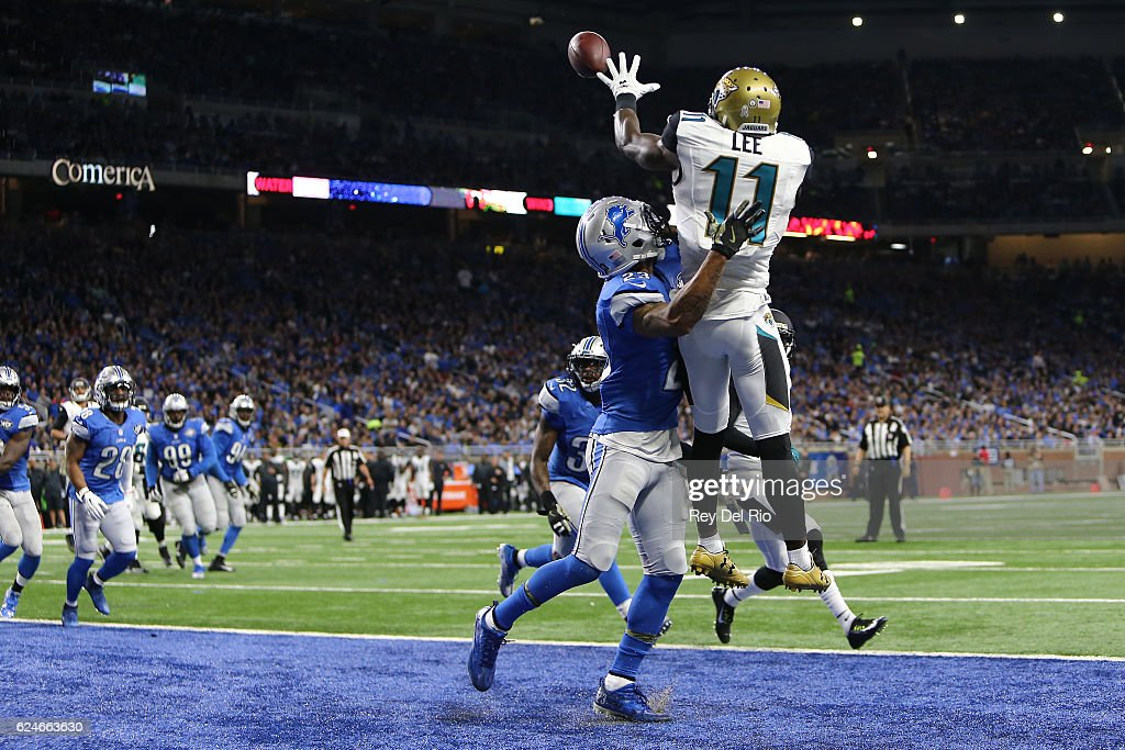 Jacksonville Jaguars v Detroit Lions : News Photo