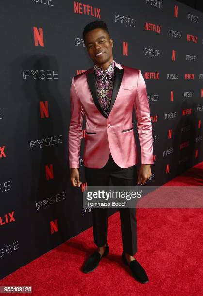 Marque Richardson attends the Netflix FYSEE Kick-Off at Netflix FYSEE At Raleigh Studios on May 6, 2018 in Los Angeles, California.