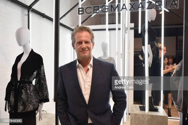 Marquee Brands President and COO Cory Baker attends the celebration of the BCBGMAXAZRIA SoHo store opening with Kate Young Bernd Kroeber and InStyle...