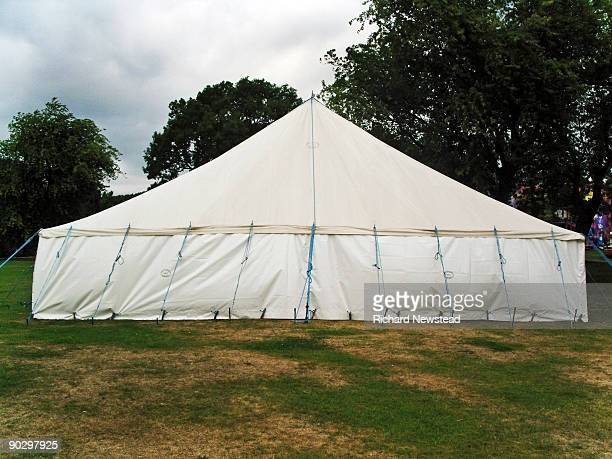Marquee in a park